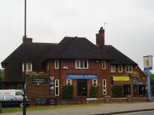 Pinner Arms pub building exterior