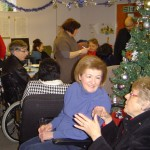 Members and staff enjoying the 2013 post-Christmas Party at the Centre