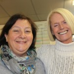 Lynn the Centre manager with Mary the photographer