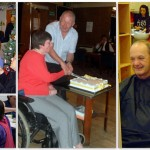 A collage of scenes from various Harrow MS Therapy Centre-related events