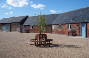 Ellwood Cottages courtyard