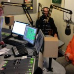 Jeremy and Gill chat with Sarah at the Harrow Community Radio studios