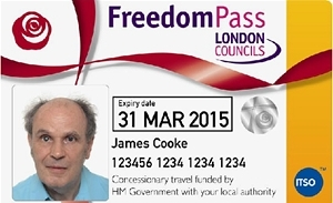 Freedom Pass for disabled people
