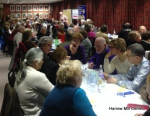 Quizzers at the Harrow Rotary Club evening