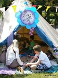 The story tent