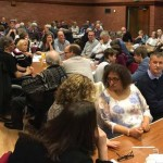 Pinner Village Hall full of keen quizzers